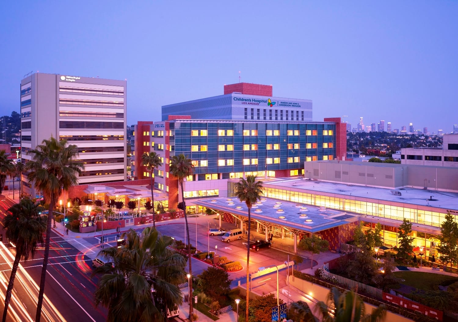 Children's Hospital Los Angeles at Dusk