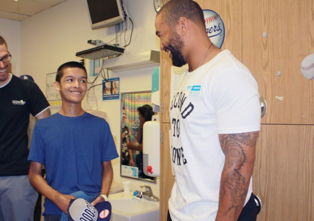 Dodgers Matt Kemp Makes Patient's Dreams Come True