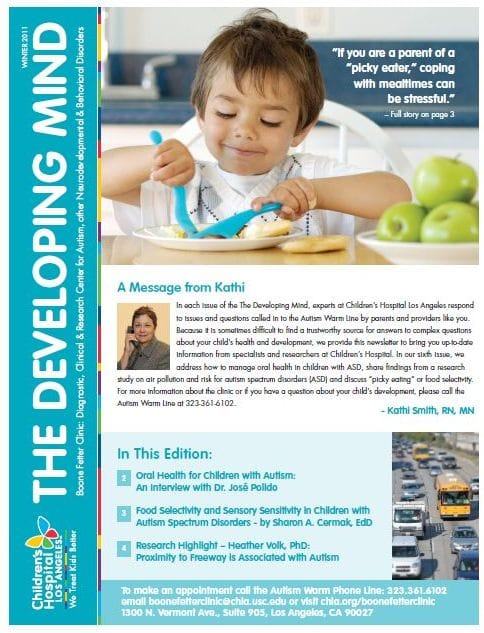 The Developming Mind Winter 2011 Newsletter