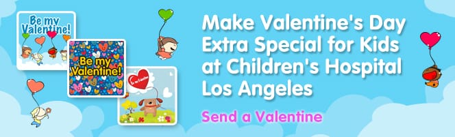 Valentines day messages for kids at childrens hospital los angeles here are some of the valentines day messages our kids received m4hsunfo