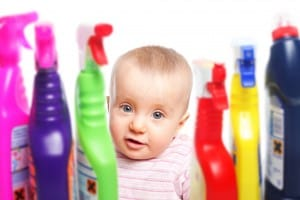 Keep Your Child Safe from Household Cleaners and Chemicals