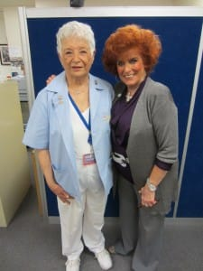 Meet Marie. A Children's Hospital Los Angeles Volunteer since the 1960s