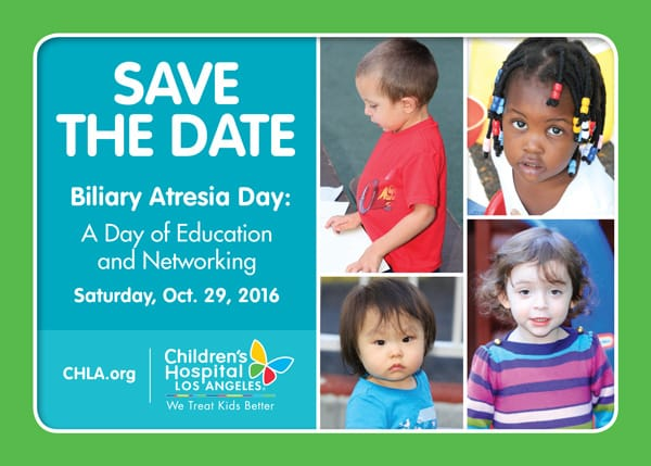 Biliary Atresia Day: A Day of Education and Networking | CHLA