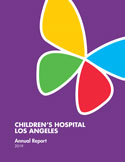 FY2019 Annual Report | Children's Hospital Los Angeles