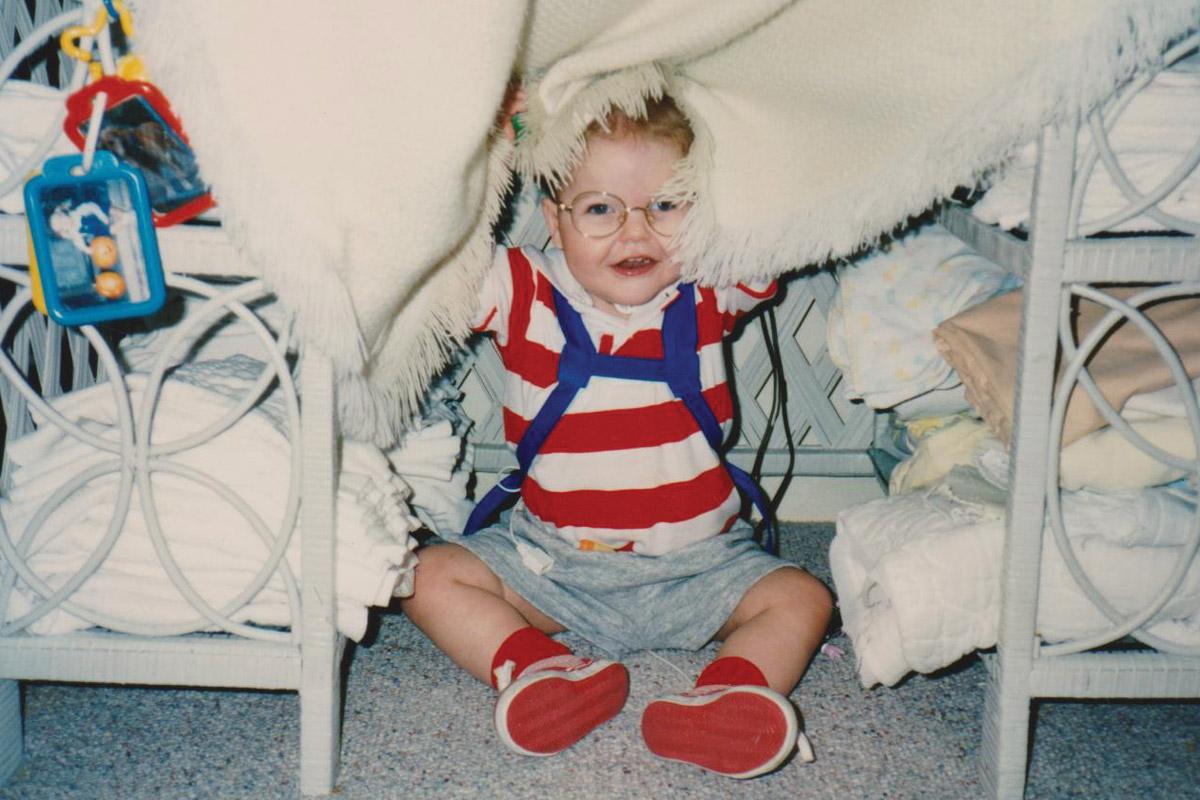 Jim, age 2