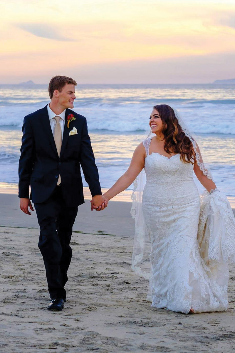 Jim and Brittany were married in November 2016.