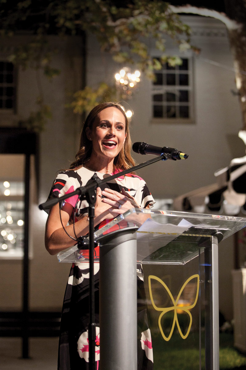 Actress Nikki DeLoach, who is a member of the CHLA Foundation Board of Trustees, shared the story of her son's heart surgery at CHLA.