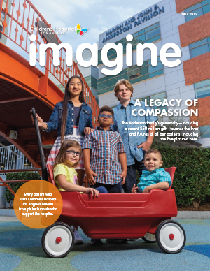 CHLA Imagine Magazine 2019 Fall - Cover image