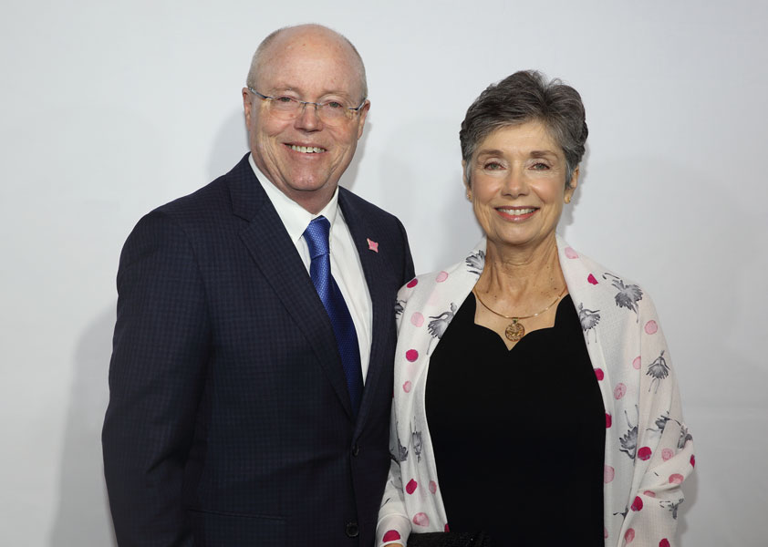 Christina and George Legg