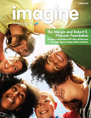 CHLA Imagine Magazine 2020 Summer - Cover image