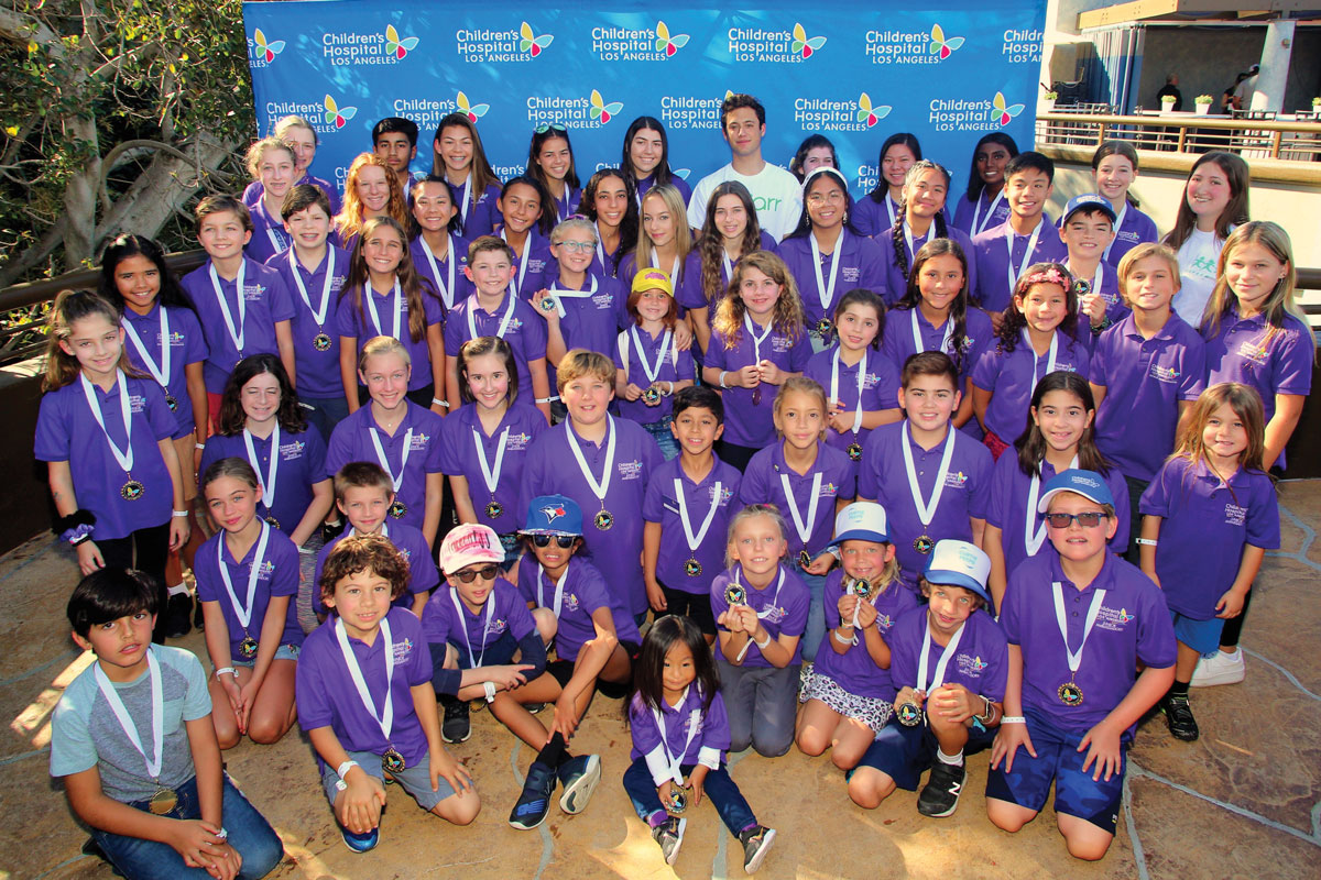 CHLA Junior Ambassadors at the annual Celebration Day at Universal Studios Hollywood