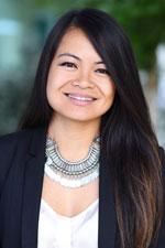 Portrait of Mona Lisa Navarro, international case coordinator in Children's Hospital Los Angeles Global Health Program