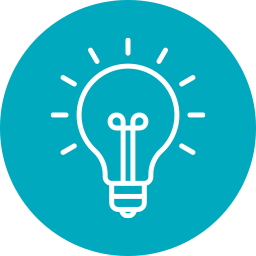 icon of light bulb for Funding Opportunity Clearinghouse TECPAD Resource Hub
