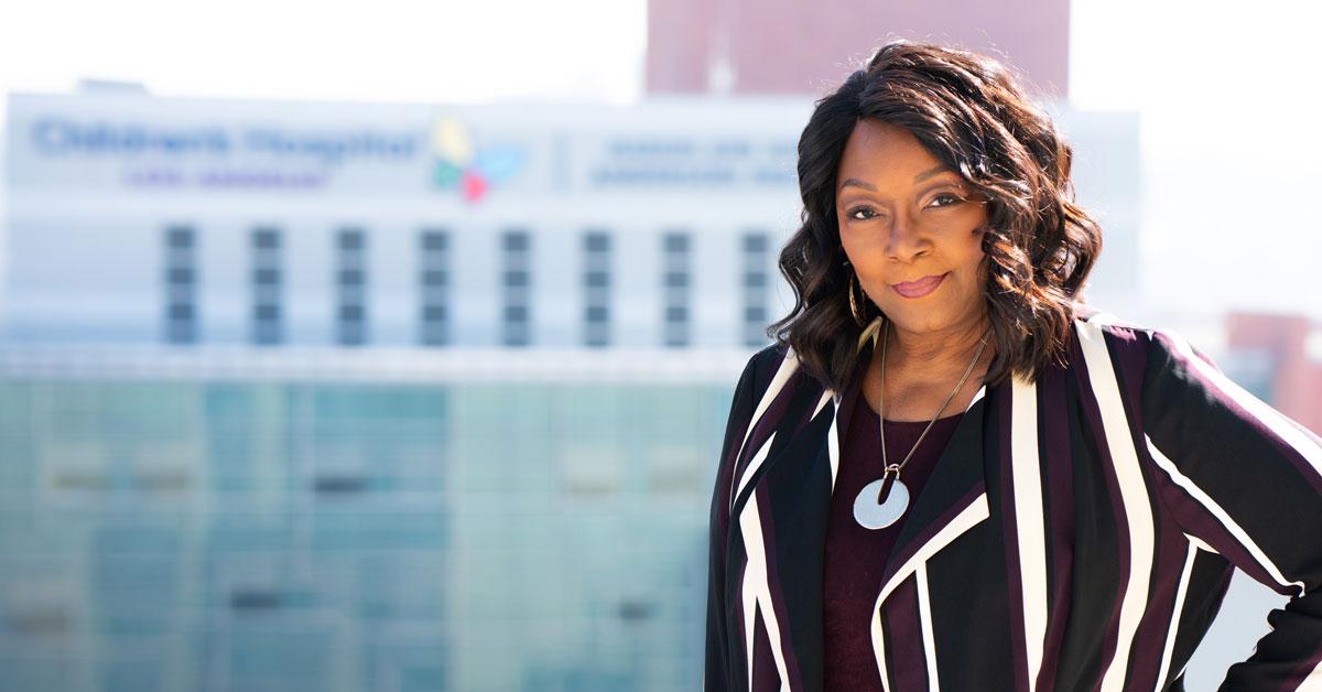 Dr. Rhonda Foster - Bitten By the Leadership Bug | Children's Hospital Los Angeles