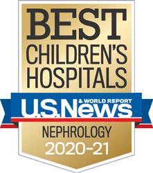 USNWR Best Children's Hospital - Nephrology  | Children's Hospital Los Angeles