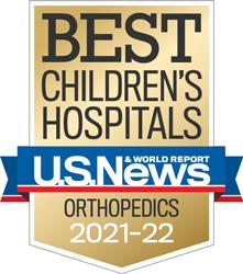 USNWR BAdge - Best Children's Hospital - Orthopedics