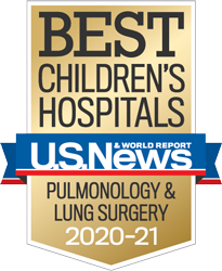 USNWR Best Children's Hospital - Pulmonology and Lung Surgery | Children's Hospital Los Angeles