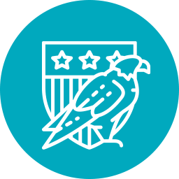 icon of eagle for U.S Department of Defense (DOD)