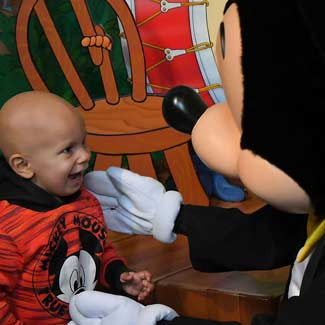 Javier Meets Mickey