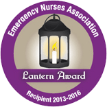 Emergency Nurses Association Lantern Award