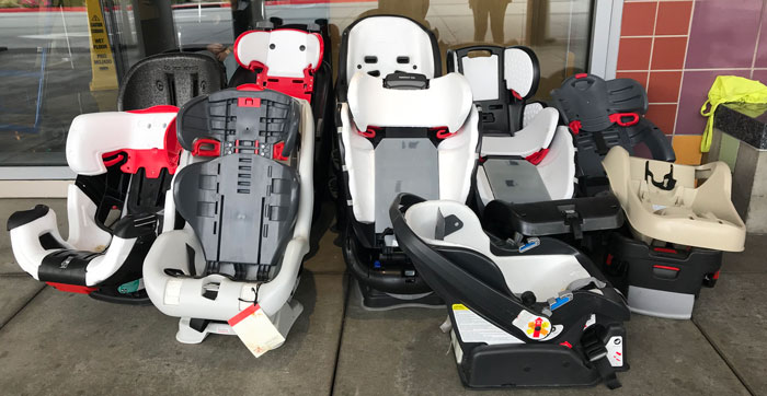 What To Do With Old Car Seats >> Car Seat Recycling Booth 11 1 19 Chla